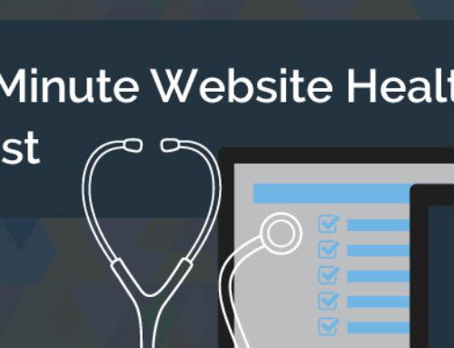 Your 1-Minute Website Health Checklist
